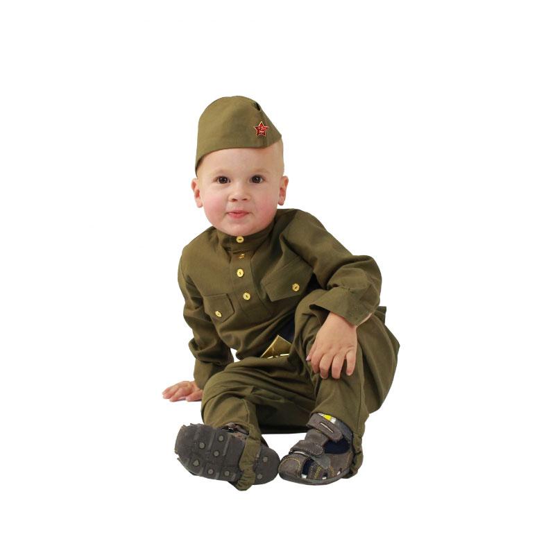 Детский костюм Великой Отечественной Войны для мальчика (108002) рост 80-86<br>
