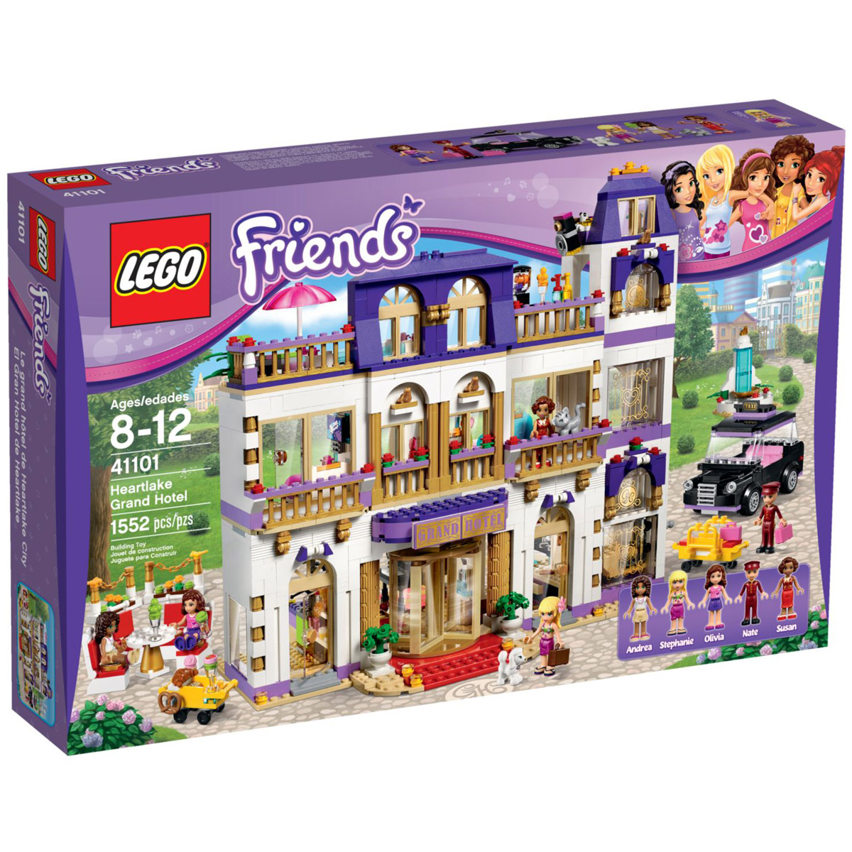 Конструктор LEGO Friends 41101 Гранд-отель<br>