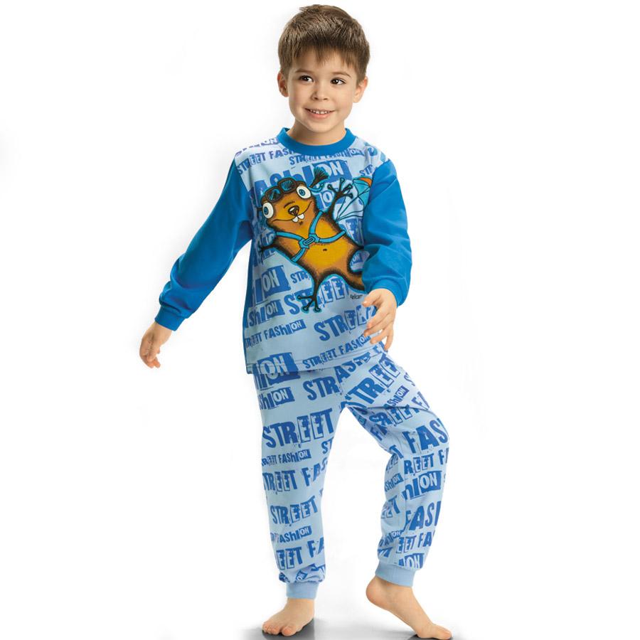 Пижама Pelican цвет Голубой BNJP296(1-4) возраст 4 года