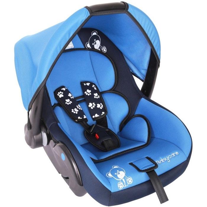 Автокресло Baby Care BC-321 Люкс Мишка Синий<br>
