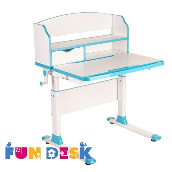 Парта-трансформер FunDesk Pensare с надстройкой Blue<br>