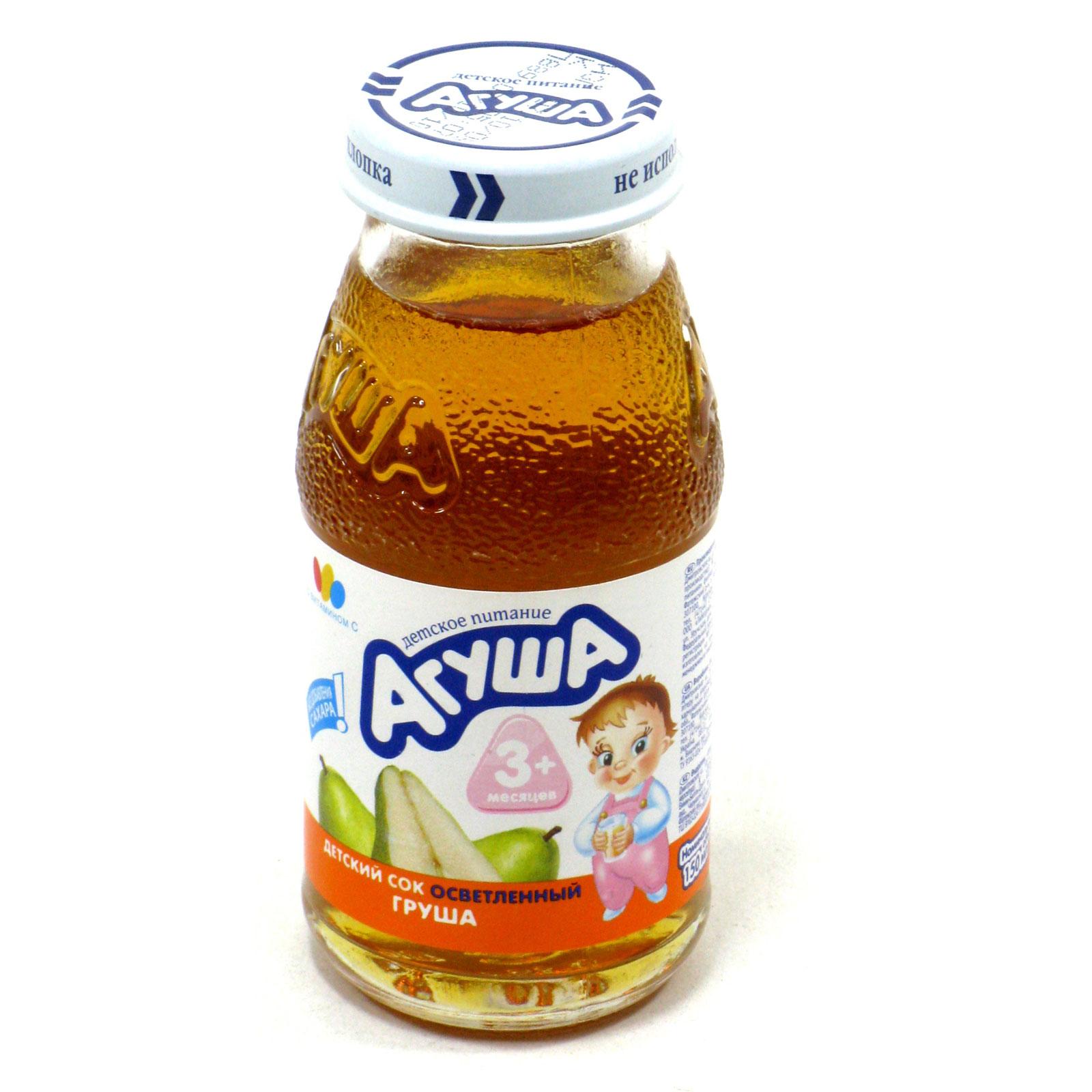 Сок Агуша 150 мл Груша (с 3 мес)<br>