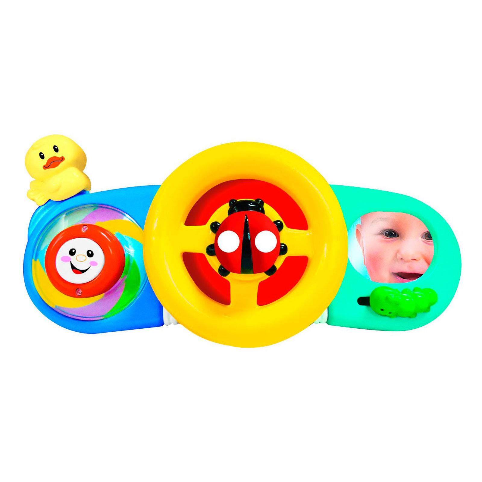 Развивающая игрушка Kiddieland Руль на коляску или кроватку<br>
