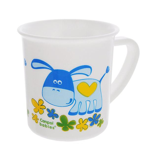 Чашка Canpol Babies Пластиковая Ослик (с 12 мес)<br>