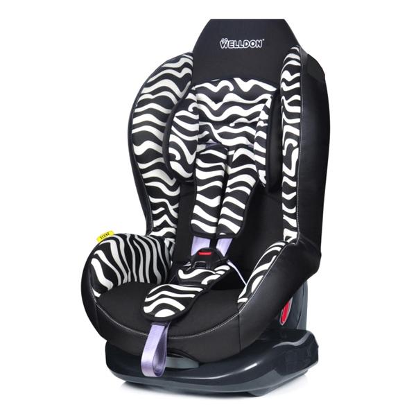 Автокресло Welldon Titat Zebra<br>