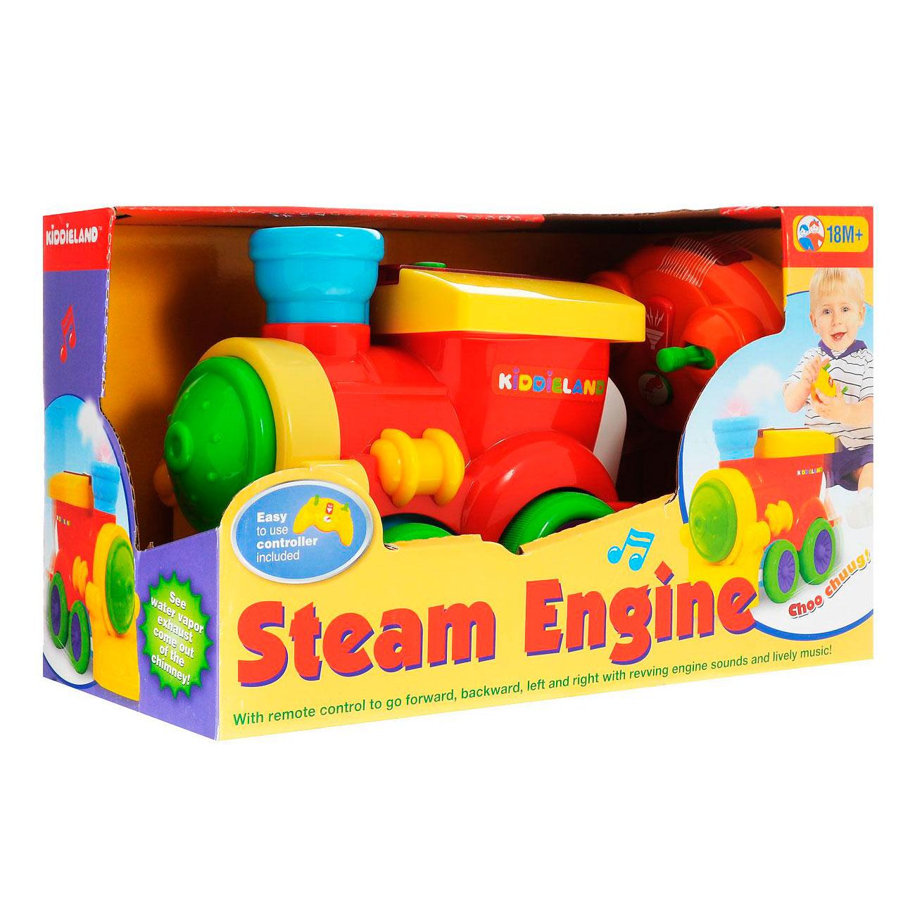 Развивающая игрушка Kiddieland Паровозик на радио управлении<br>