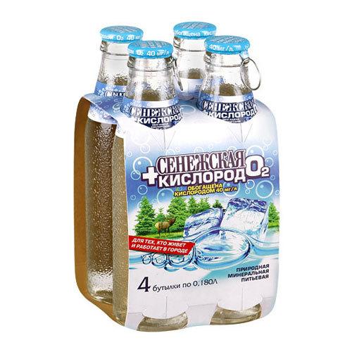 Вода Сенежская+Кислород 0,18 мл.<br>