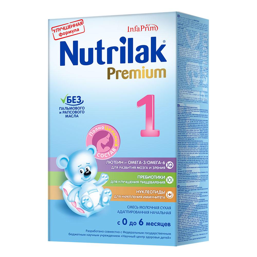 Заменитель Nutrilak Premium 350 гр № 1 (c 0 до 6 мес)<br>