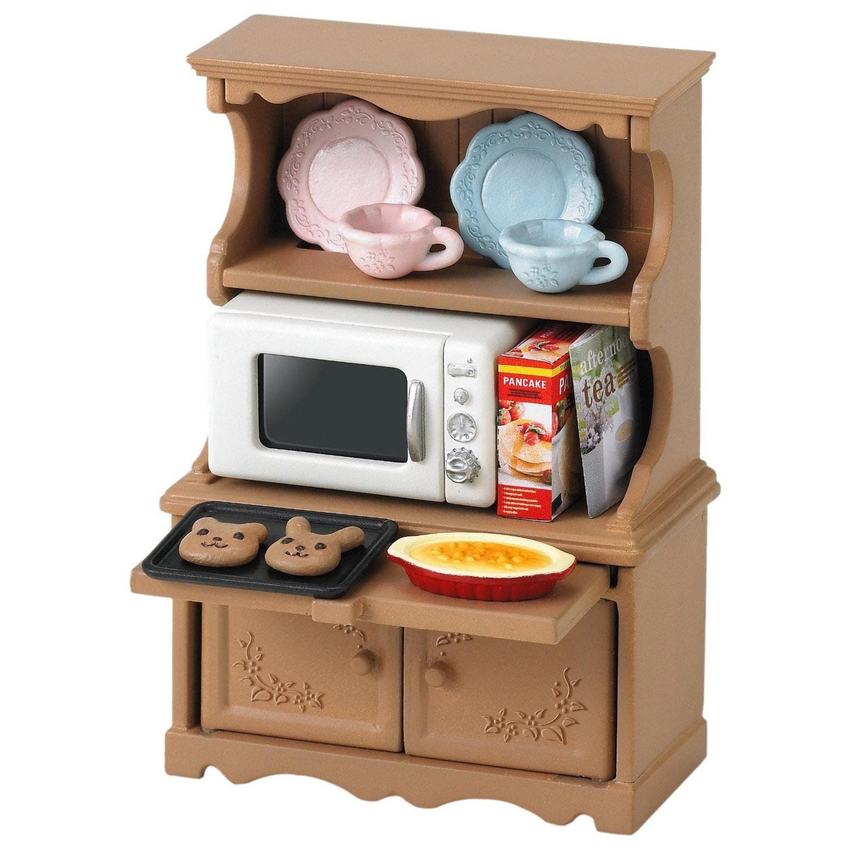 Мебель и аксессуары Sylvanian Families Буфет с микроволновой печью<br>