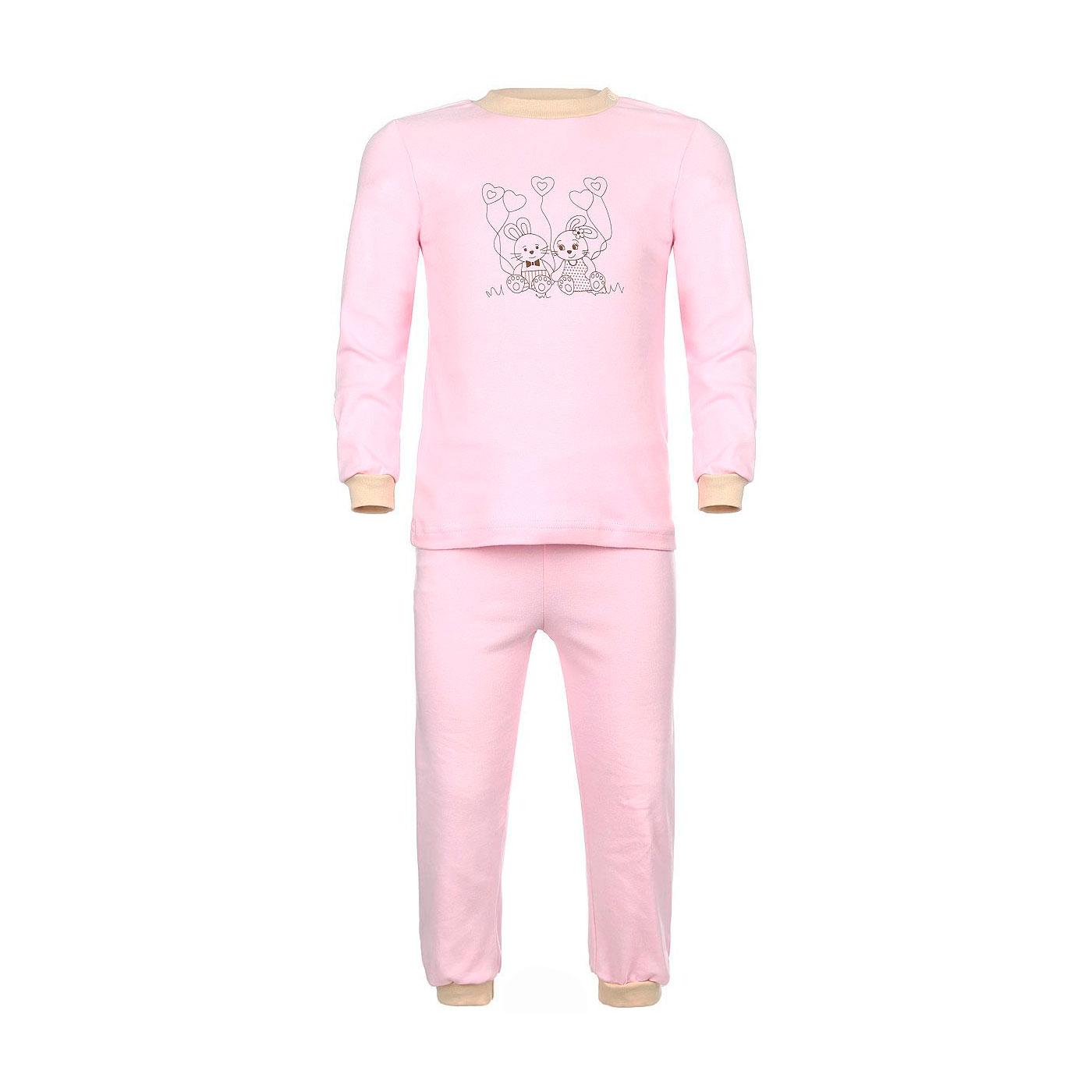 Пижама Котмаркот Зайкина любовь рост 80 розовый<br>