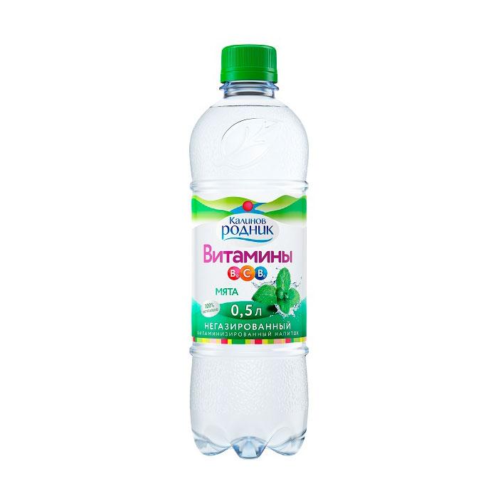 Вода Калинов Родник витаминизированная мята 0,5л (с 5 лет)<br>