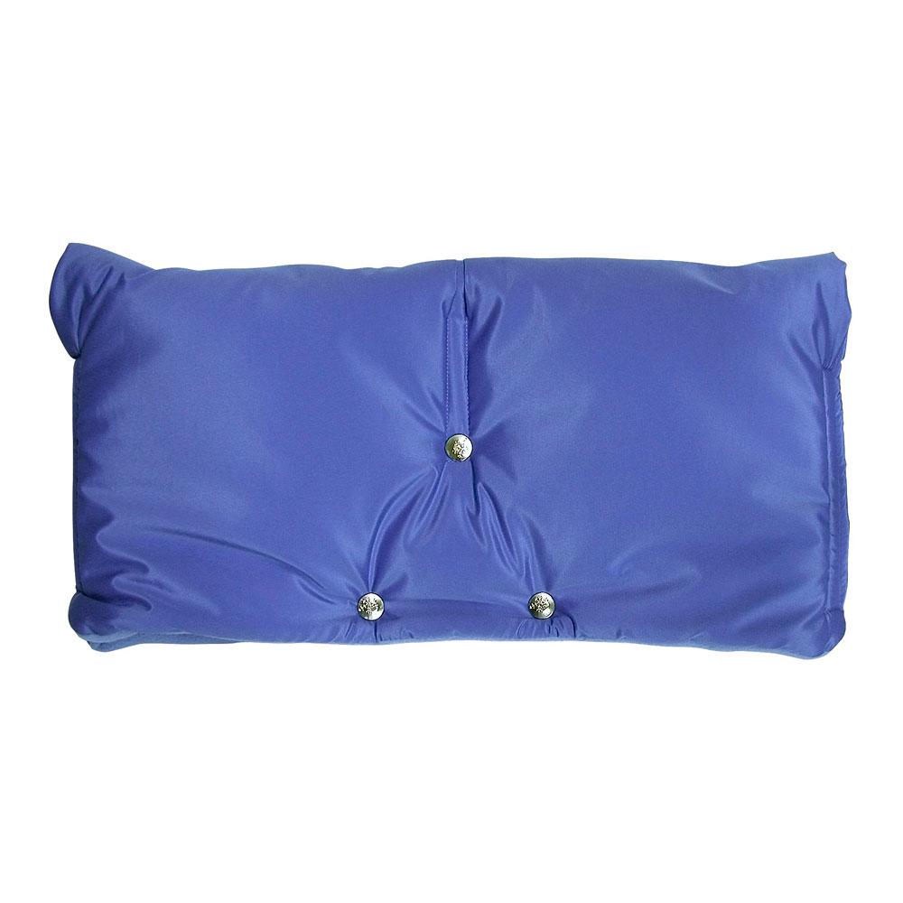 Муфта для коляски Чудо-Чадо флисовая (на липучке) Голубой<br>