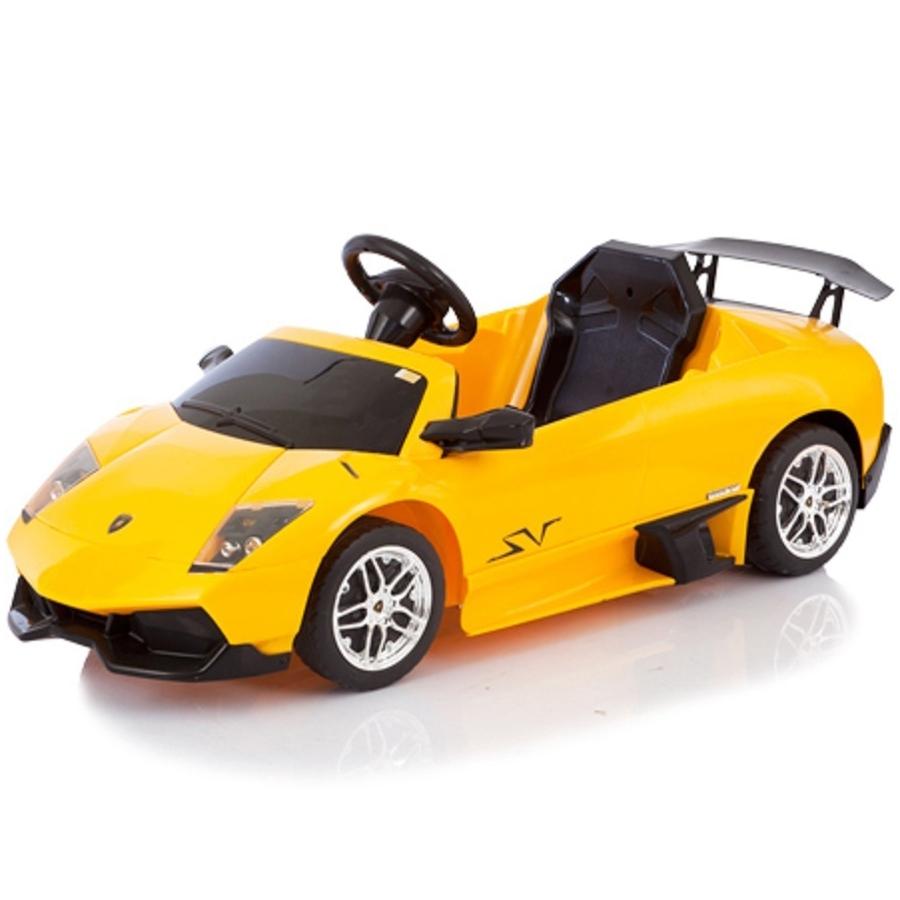 Электромобиль Jetem Lamborghini Murcielago KL-7001F Желтый<br>