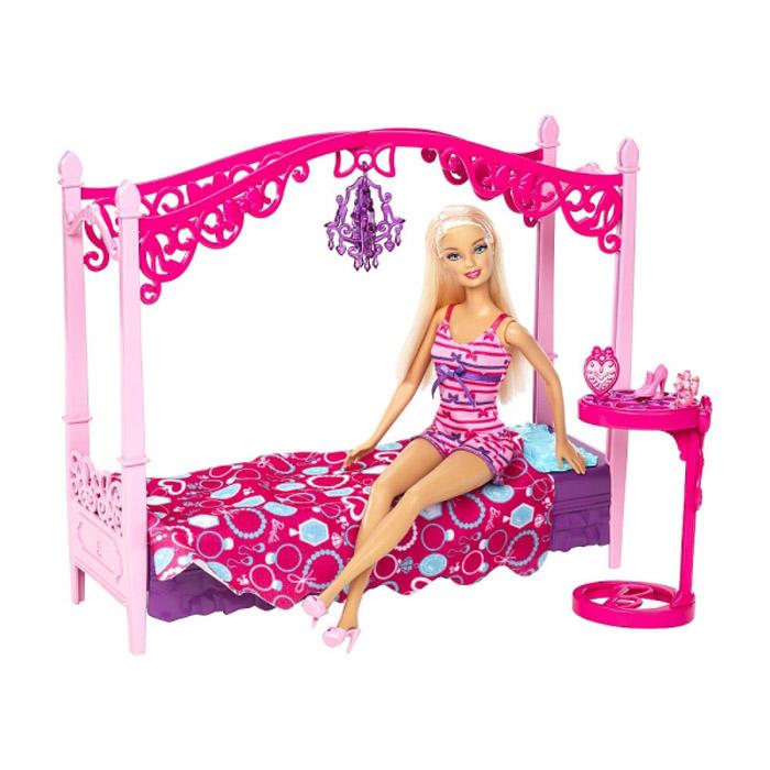 Игровой набор Barbie Кукла со Спальной комнатой<br>