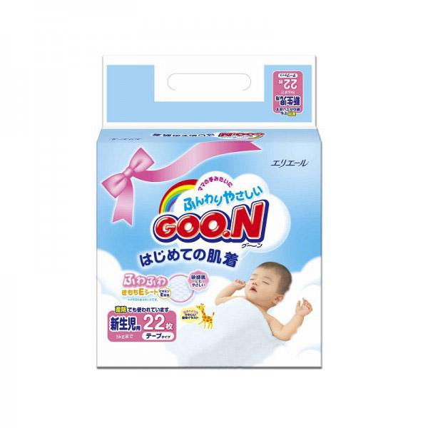 Подгузники Goon Mini Pack до 5 кг (22 шт) Размер NB<br>