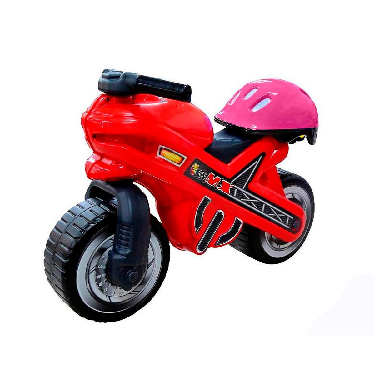 Каталка-мотоцикл Coloma Moto Mx с Шлемом<br>