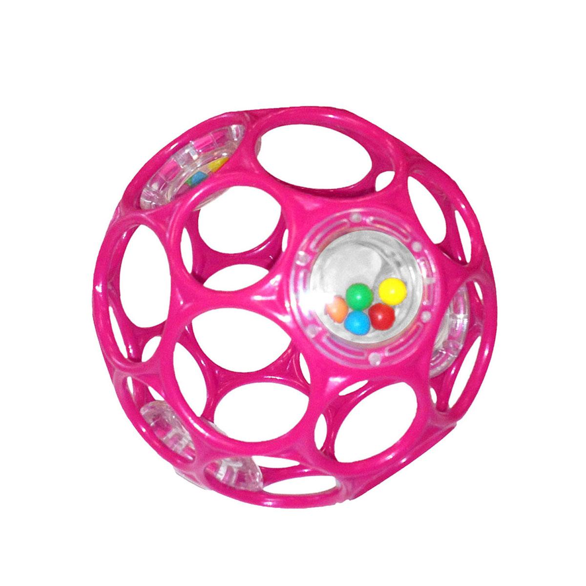 Развивающая игрушка Rhino Toys Мячик Гремящий Oball от 0 мес. в ассортименте<br>