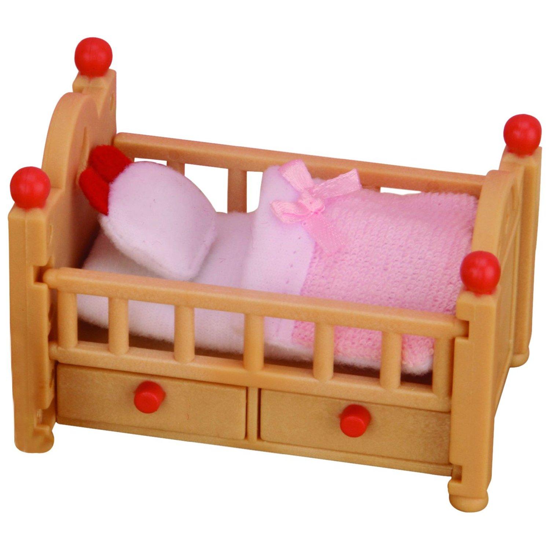 Мебель и аксессуары Sylvanian Families Детская кроватка<br>