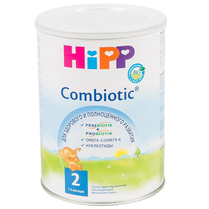 Заменитель Hipp Combiotic 800 гр №2 (с 6 мес)<br>