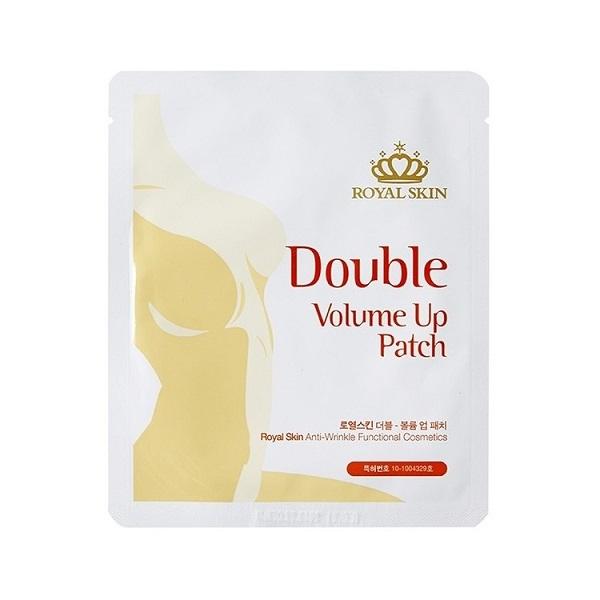 Патчи-маски Royal Skin 2 шт для уменьшения растяжек и повышения эластичности кожи груди 2 шт