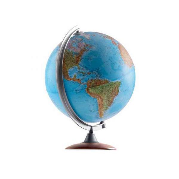 Глобус NOVA RICO ATLANTIS диаметр 30 см подсветка и деревянная подставка<br>