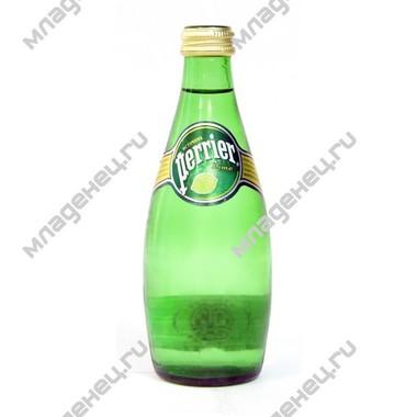 Вода Perrier Перье 0.33 л. Лимон