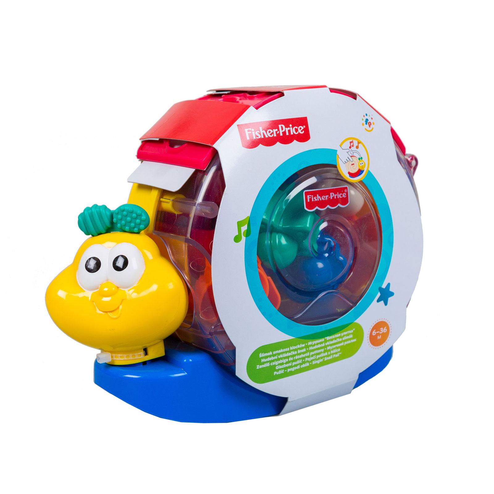 Развивающая игрушка Fisher Price Сортер улитка с 6 мес<br>
