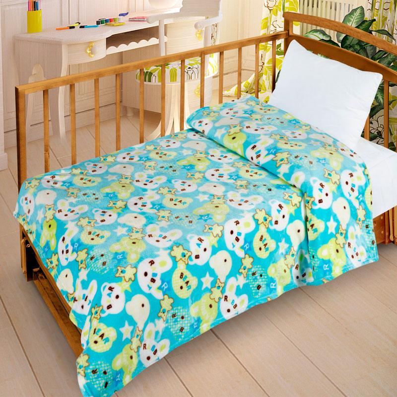 Плед Letto Велсофт-беби в кроватку VB10<br>