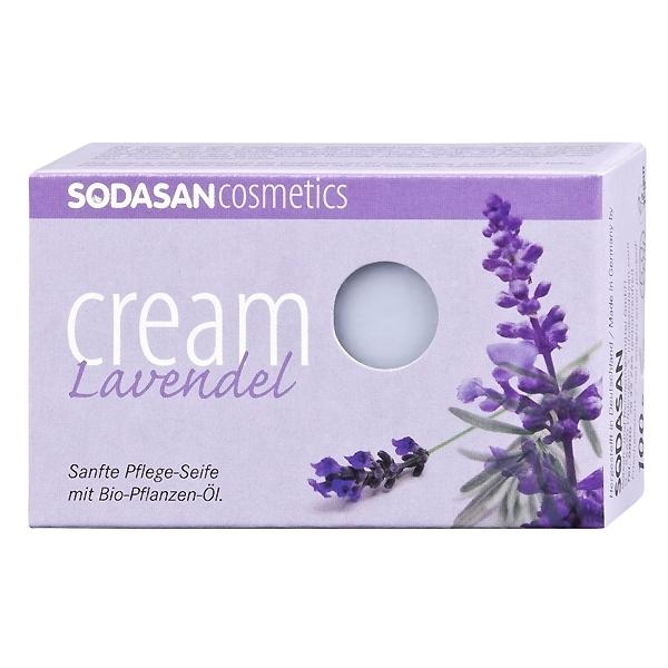 Крем-мыло Sodasan 100 гр Лаванда<br>