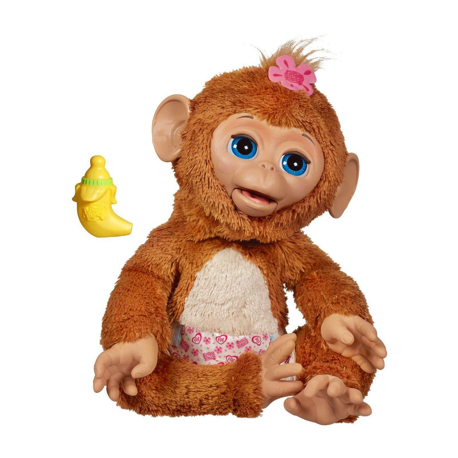 Интерактивная игрушка Furreal Friends Смешливая обезьянка<br>
