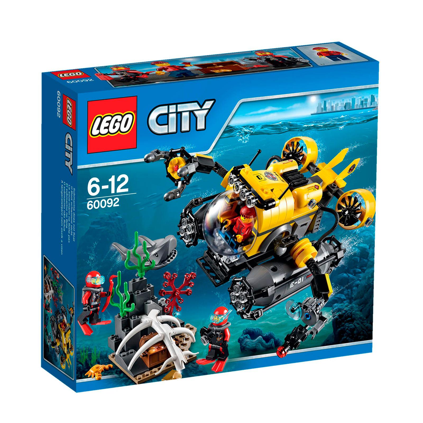 ����������� LEGO City 60092 ������������� ��������� �����