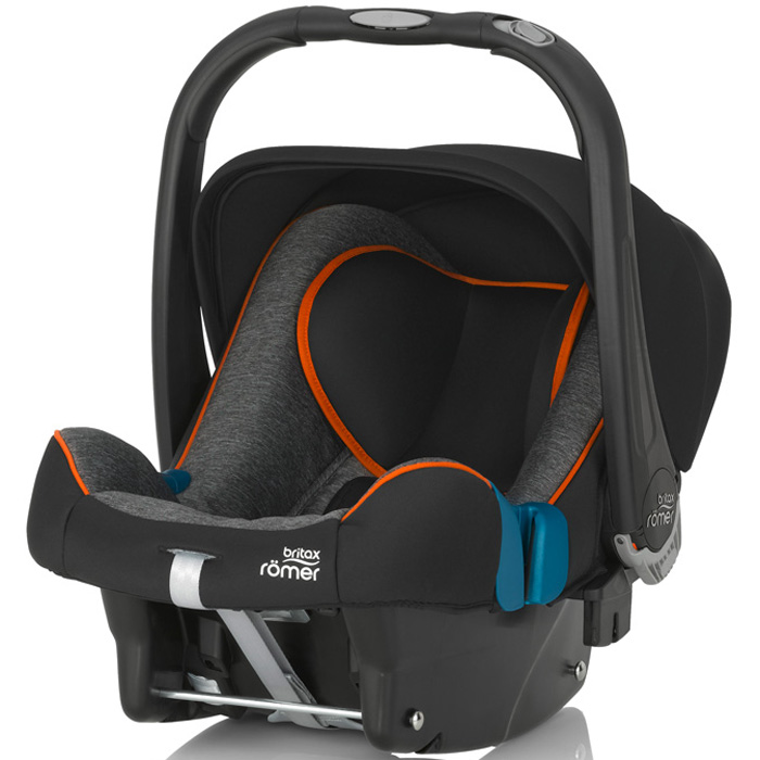 Автокресло Britax Romer Baby-Safe Plus SHR II Black Marble Highline<br>