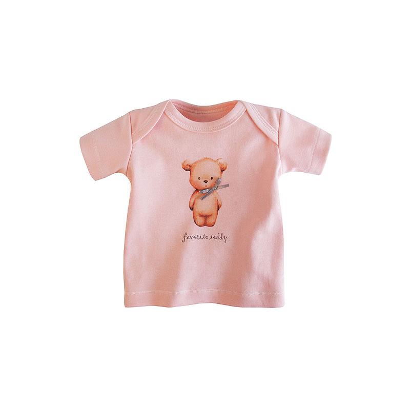 Футболка Наша Мама Favorite teddy рост 80 цвет розовый<br>