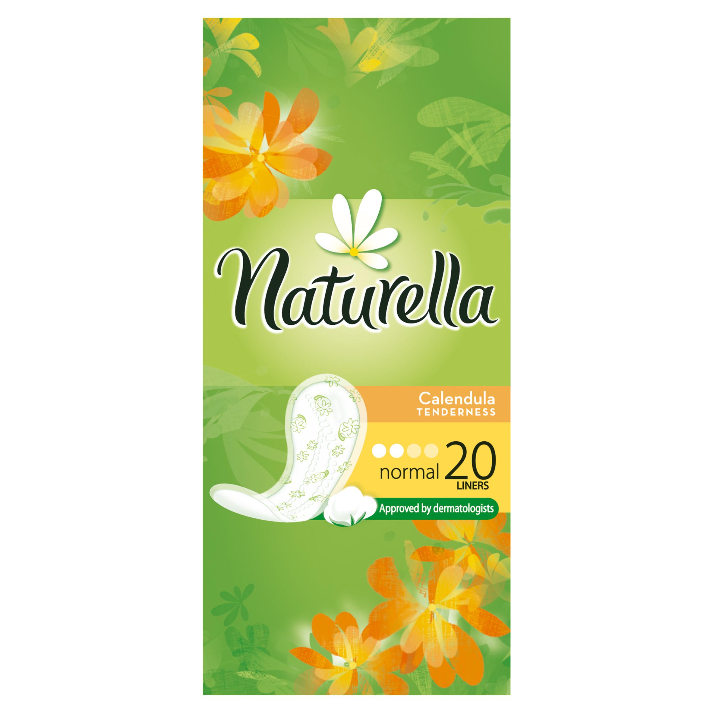 Прокладки гигиенические Naturella ежедневные Normal Calendula Tenderness 20Шт.<br>