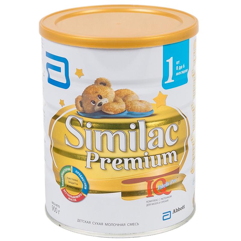 Заменитель Similac Премиум 900 гр №1 (с 0 до 6 мес)<br>