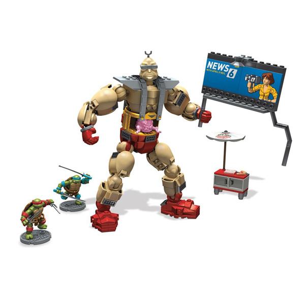 Игровой набор Mega Bloks Крэнг против черепашек<br>