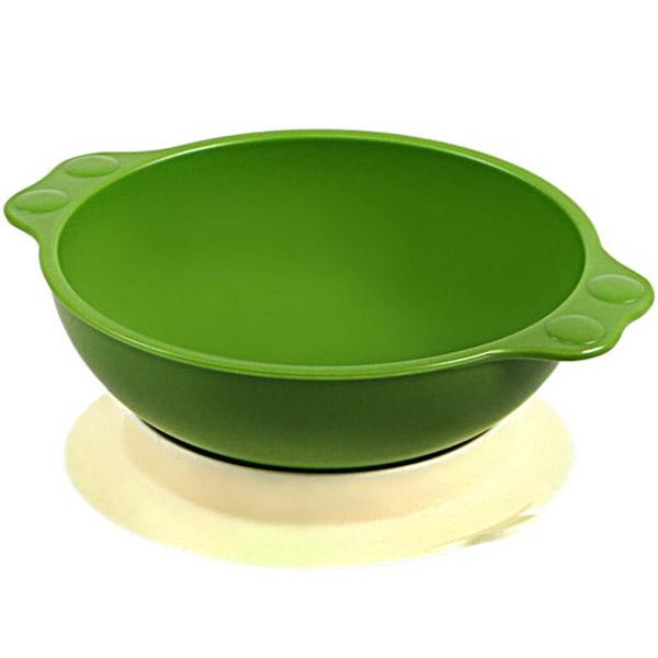 Миска UINLUI На присоске (зеленая)<br>
