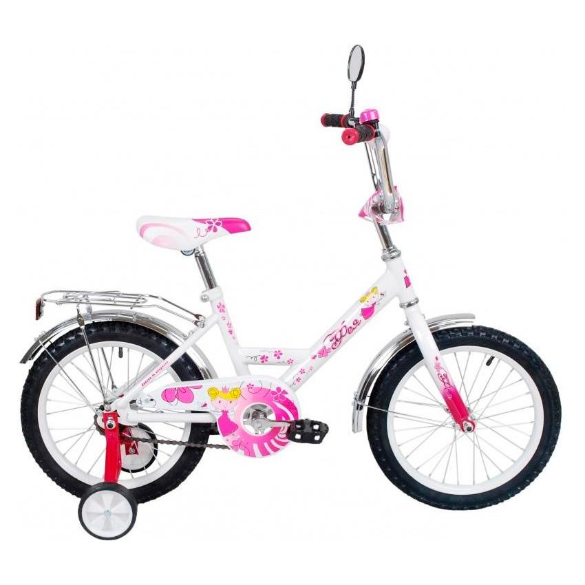 Велосипед двухколесный RT BLACK AQUA Фея 12 ВА-1225 Розовый<br>