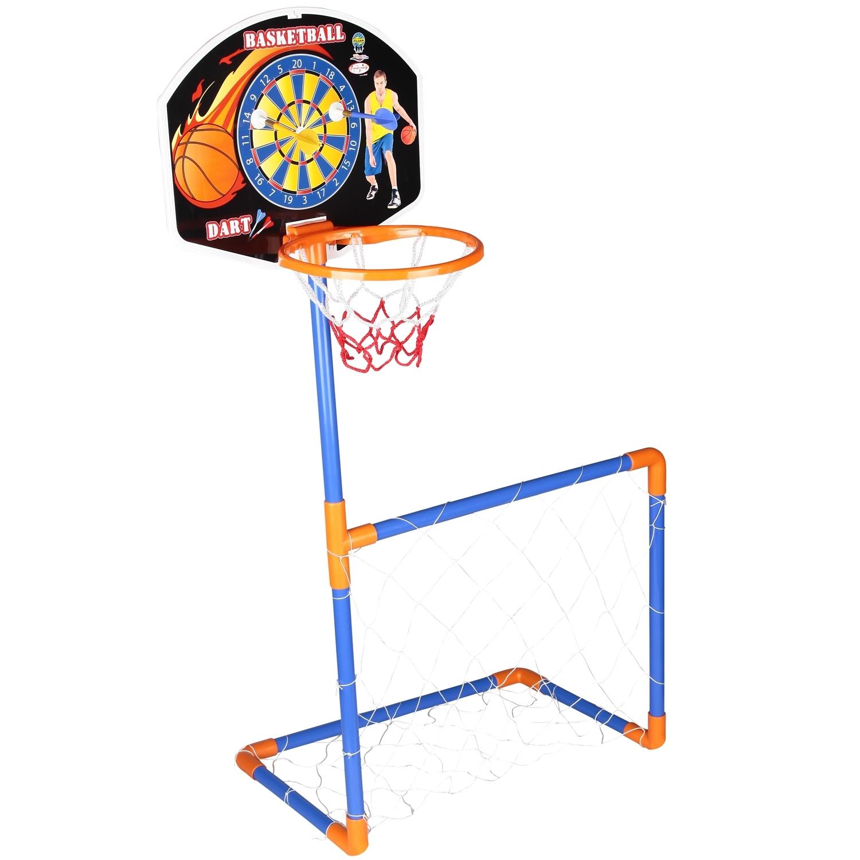 Игровой центр Pilsan Баскетбольное кольцо + ворота + дартс<br>