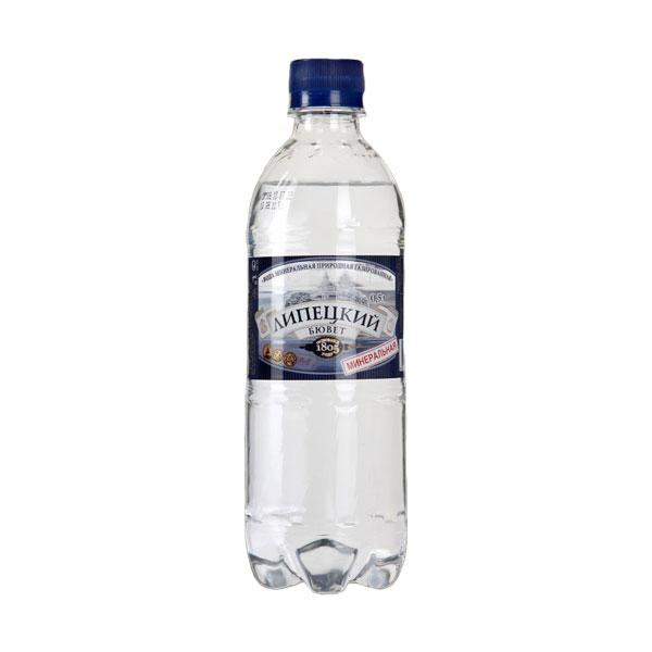Вода питьевая Липецкий Бювет 0,5 л. Лечебно-столовая, газированная<br>