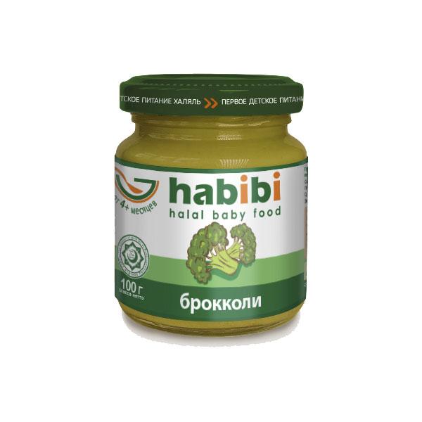 Пюре Habibi овощное 100 гр Брокколи (с 4 мес)<br>