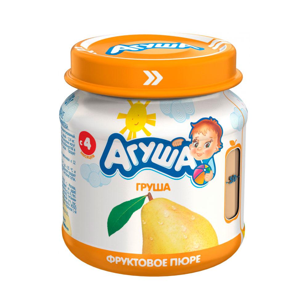 Пюре Агуша фруктовое 115 гр Груша (с 4 мес)