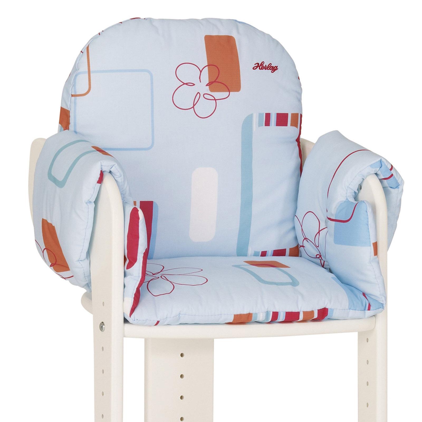 Подушка для стульчика Kettler C цветочным мотивом