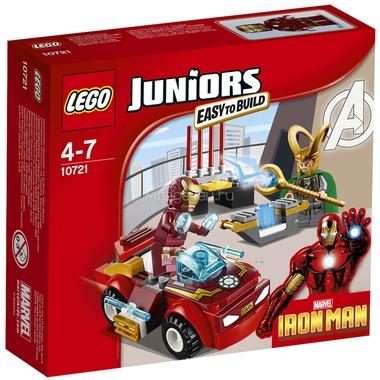 Конструктор LEGO Junior 10721 Железный человек против Локи