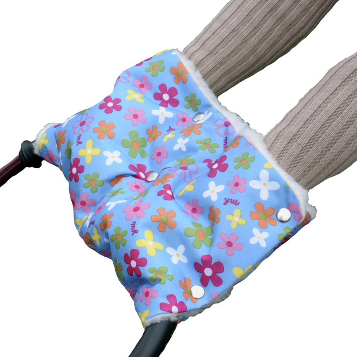 Муфта для коляски Чудо Чадо Цветочки<br>