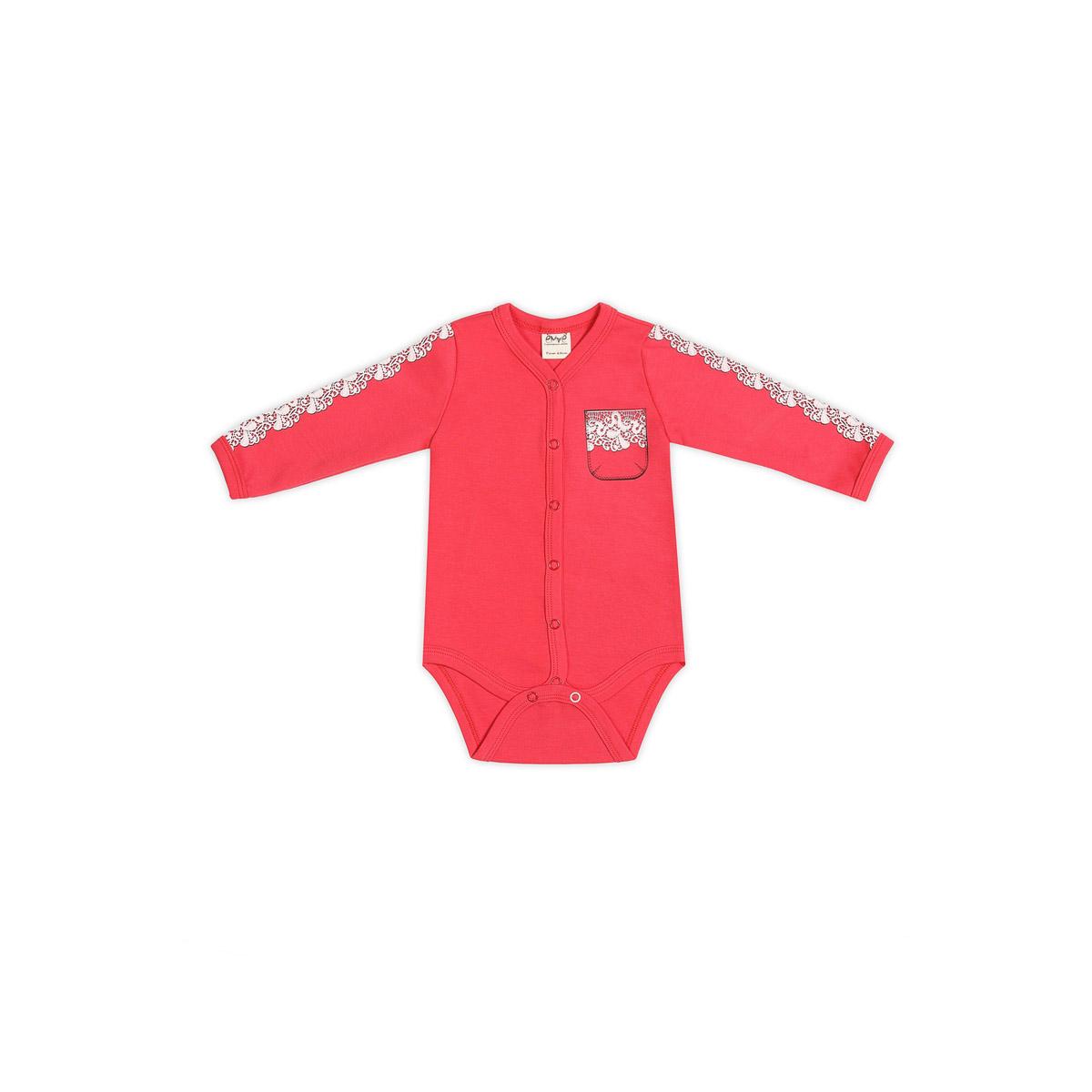 Боди Ёмаё Спорт (24-261) рост 62 ярко-розовый<br>