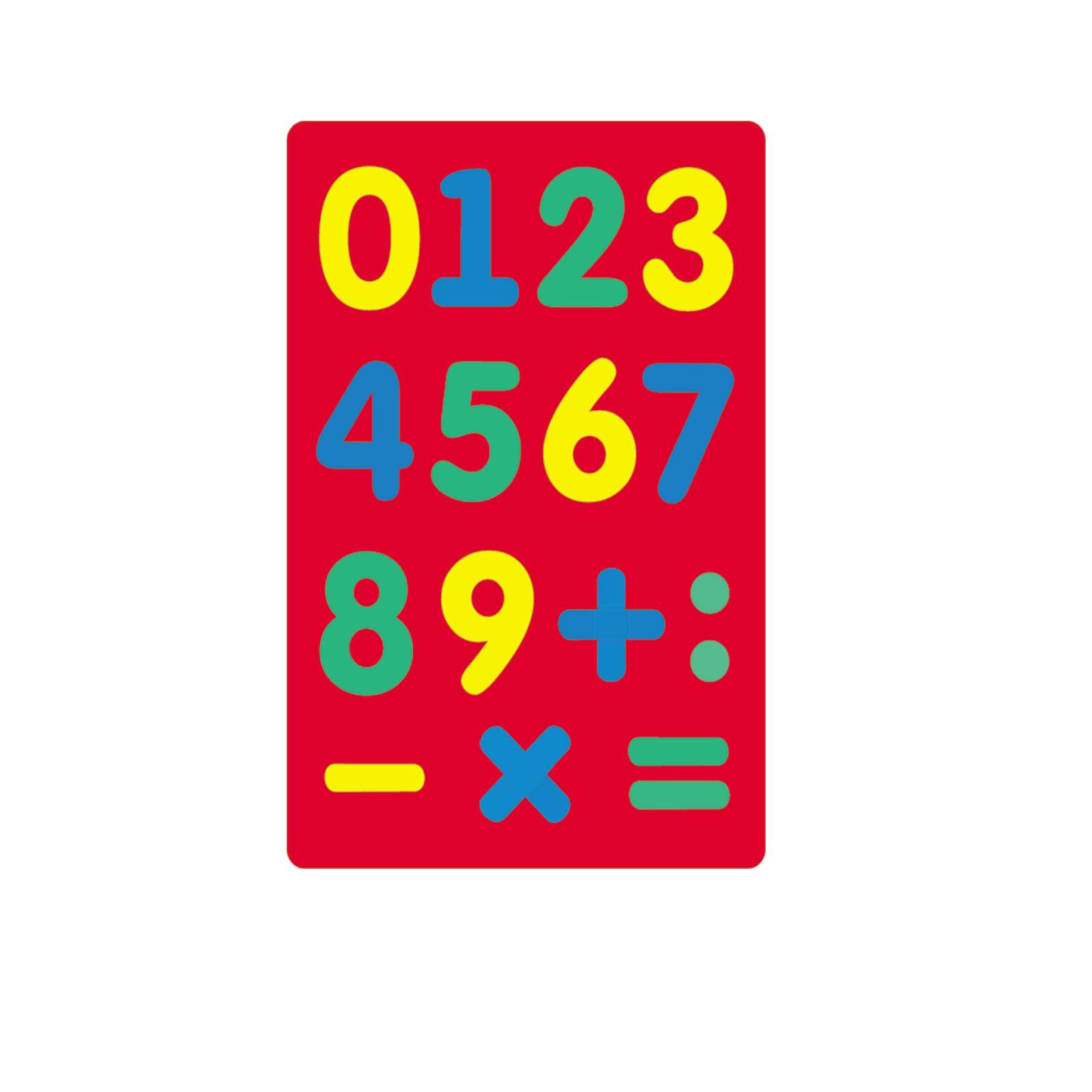 Мозаика мягкая Флексика Цифры