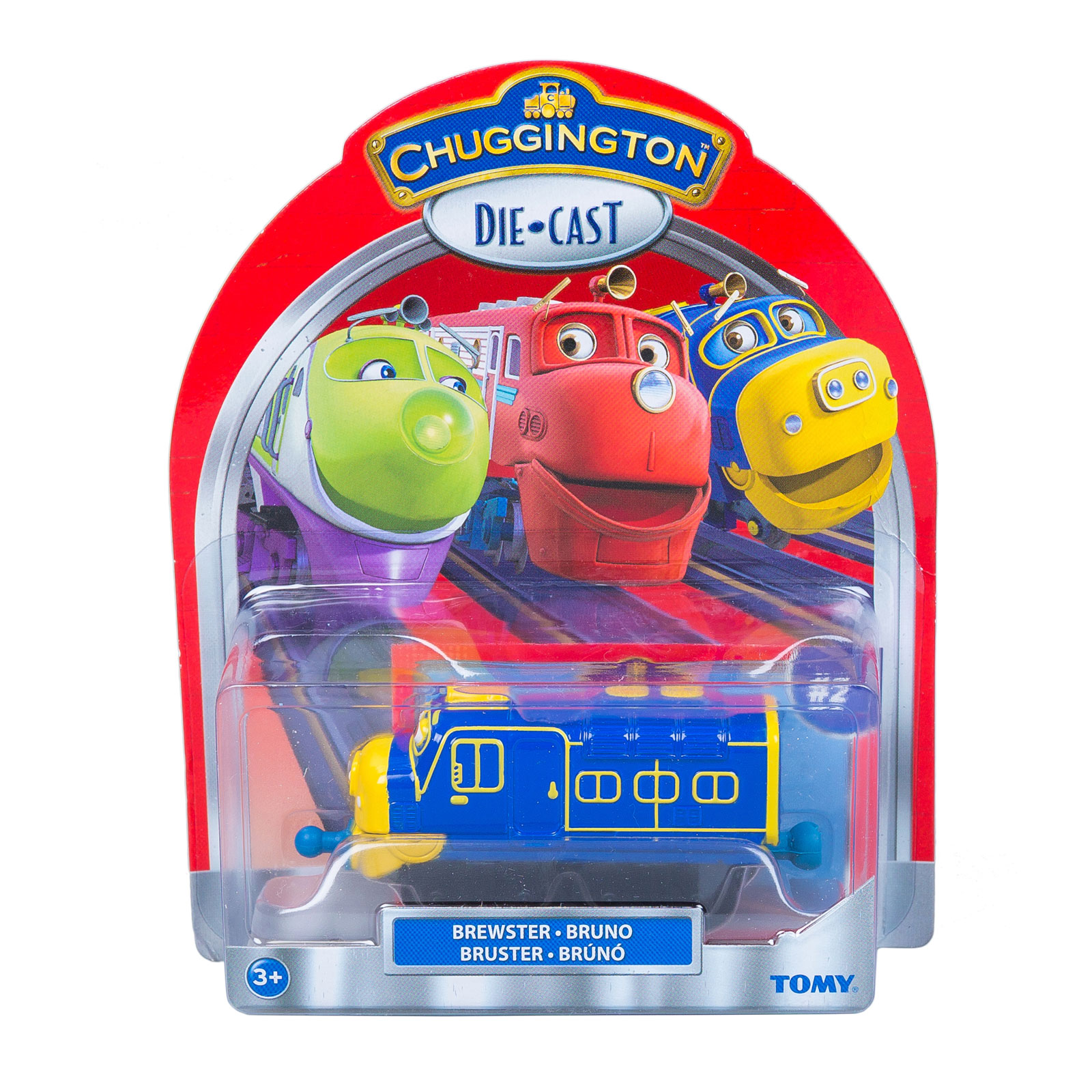 Паровозик Chuggington Брюстер с 3 лет.<br>