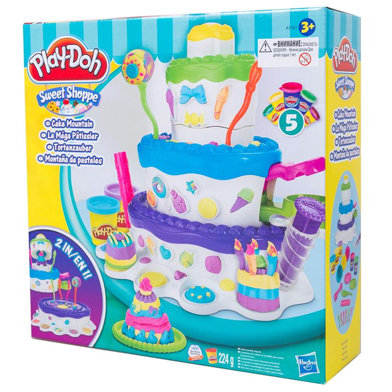 Игровой набор Play-Doh Праздничный торт<br>