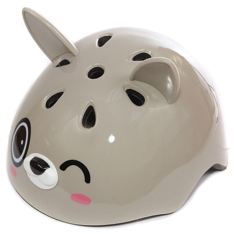 Шлем Rexco 3D Зайка Банни Серый<br>